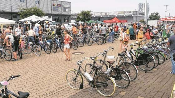 Rund 250 Räder wurden auf dem Markt angeboten